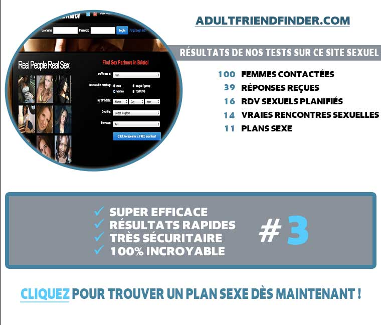 Rencontre Sur Adultfriendfinder France